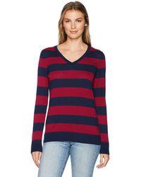 Amazon Essentials - Lightweight V-Neck Sweater Pullover Maglione - Lyst