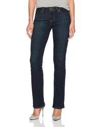 Levi's Donna 715 Vintage Bootcut Jeans Jeans - blu - 32 (46 ) Regolare