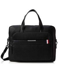 Tommy Hilfiger - Th Downtown Computer Bag, Sacs portés épaule homme, Noir (Black) - Lyst