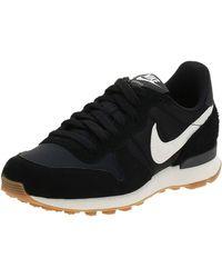 Nike Wmns Internationalist Running Shoes - Black
