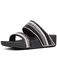 Fitflop - Rosa Crystal Mosaic Slide - Lyst