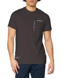 G-Star RAW - Multi Logo Pocket Graphic Straight Camiseta - Lyst