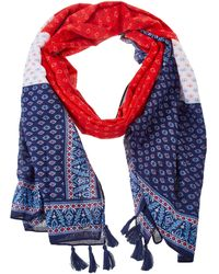 Pepe Jeans Julia Fashion Scarf - Red