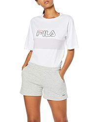 Fila Kat Shorts Wmn Up Pantaloncini Sportivi Donna - Grigio