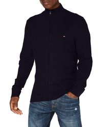 Tommy Hilfiger - Honeycomb Zip Through Pullover - Lyst