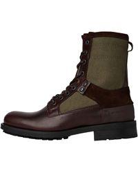 G-Star RAW Patton Vi High Canvas Boots - Multicolour