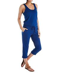 Michael Stars - Tank Jumpsuit With Drawstring Waist - Lyst