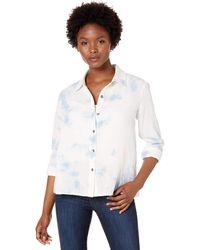 Splendid - Long Sleeve Button-up Shirt - Lyst