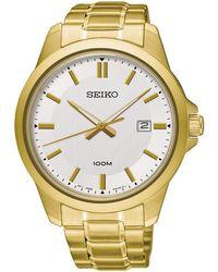 Seiko - Neo classic orologio Uomo Analogico Al quarzo con cinturino in Acciaio INOX SUR248P1 - Lyst