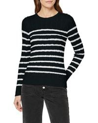 Superdry Croyde Bay Cable Knit Pull - Vert