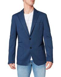 Cortefiel Americana Punto Coolmax Blazer - Azul