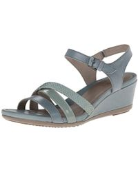 Ecco - Touch 45 Wedge Sandal - Lyst
