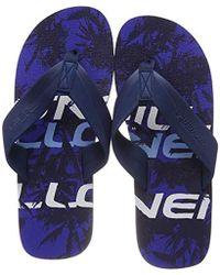 O'neill Sportswear Herren FM Imprint Pattern Sandals Zehentrenner - Blau