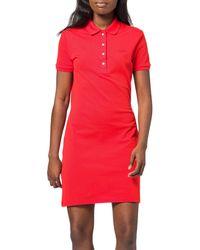 Lacoste EF5473 Vestido - Rojo