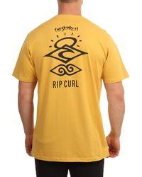 Rip Curl Camiseta Search Essential T CTESV9 1041 - Gelb