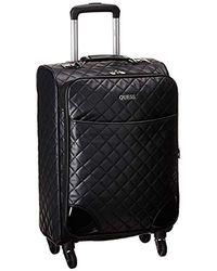"Guess Horton Carry-on luggage, Black, 14.25"" X 7.5"" X 20"""