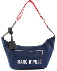 Marc O'polo Jennifer Hobo Bag Navy - Blue