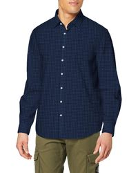 Tommy Hilfiger Cannes Fitted Fec Camisa - Azul