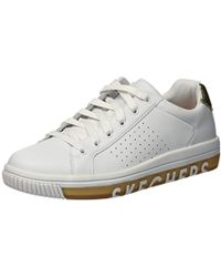 Skechers Lace Synergy Silky Sweet Trainers in White Lyst
