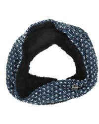 Regatta Great Outdoors S/ladies Harleth Textured Knit Snood - Blue