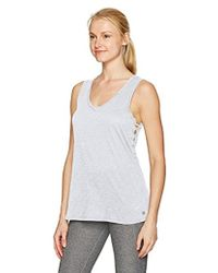 CALVIN KLEIN 205W39NYC - Performance Side Lace-up Tank - Lyst