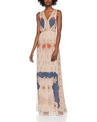 INTROPIA Vestido de Fiesta para Mujer - Multicolor