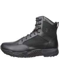 Under Armour Stellar Tac Waterproof Military And Tactical Boot - Black