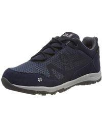 Jack Wolfskin Activate Xt Texapore Low W Wasserdicht Rise Hiking Shoes - Blue