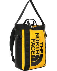 The North Face Basecamp Tote sac à dos - Jaune