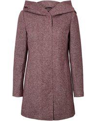 Vero Moda Vmverodona Ls Jacket Ga Noos Coat - Purple