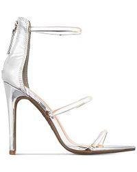 e4585e634e3 Lyst - Bebe Abban Strappy Sandals in Pink