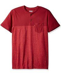 Levi's - Jenner 2 Speckled Snow Yarn Jersey Short Sleeve Shirt - Lyst