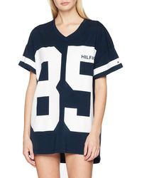 Tommy Hilfiger Dress SS Fashion - Bleu