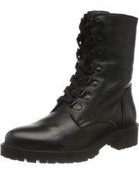 Geox D Hoara G Biker Boots - Black