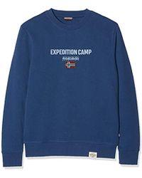 Napapijri Bonthe C Dark Denim Sweatshirt - Blue