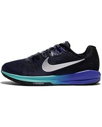 finest selection 3233e 1fe38 Nike Air Zoom Structure 19 Running Shoes in Blue - Lyst