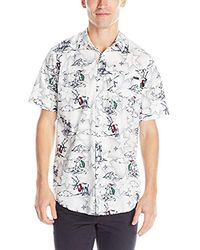 O'neill Sportswear Hollowdays Short Sleeve Woven - White
