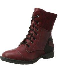 S.oliver Mädchen 55201 Combat Boots - Mehrfarbig