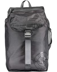 Calvin Klein Availed Backpack W/Flap - Negro