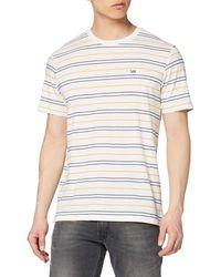 Lee Jeans - Stripe Tee T-Shirt - Lyst