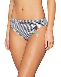 Esprit Clearwater Beach Classic Brief Braguita de Bikini para Mujer - Azul