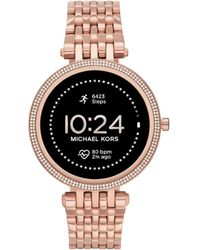 Michael Kors Gen 5E Darci Touchscreen Smartwatch mit Lautsprecher - Mehrfarbig