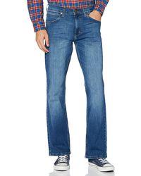 Wrangler Bootcut Jeans - Blu