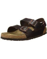 Birkenstock - Milano Birko-flor Wide Sandals - Lyst