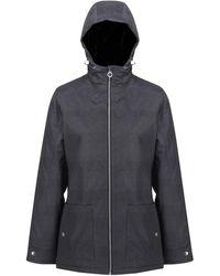 Regatta Bergonia II Waterproof Taped Seams Insulated Hooded Jacket - Gris