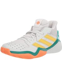 adidas Harden Stepback Basketball Shoe - Gray