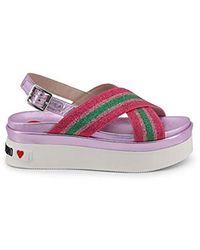 866f21a3e2f70 Sandals Rose Ja16166g17ic - Purple