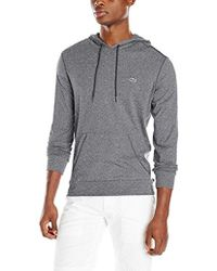 Lacoste - Long Sleeve Jersey Hooded T-shirt - Lyst