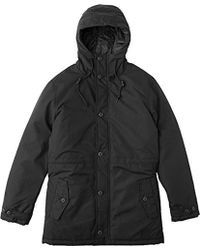 RVCA No Boundaries Parka Jacket - Black