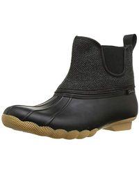 Skechers - Pond-mid Herringbone Chelsea Duck Boot With Waterproof Outsole Rain - Lyst